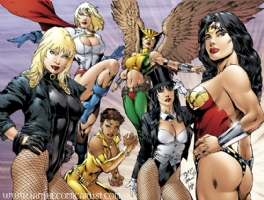 Ed Benes - DC Women, Comic Art