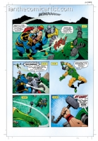 Thor and the Recorder short story page 6, Comic Art