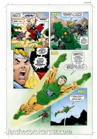 Thor and the Recorder short story page 4, Comic Art