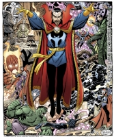 John Byrne - Doctor Strange Comic Art