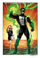 Darryl Banks and Romeo Tanghal - Green Lantern, Comic Art