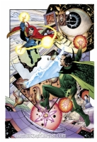 Paul Smith - Doctor Strange vs Baron Mordo Comic Art
