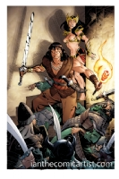 Paul Smith - Conan, Comic Art