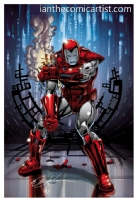Bob Layton - Silver Centurion, Comic Art