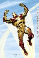 Bob Layton - Nano Iron Man MkII, Comic Art