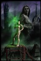 Steampunk Painting 006, Comic Art