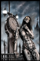 Steampunk Painting 003, Comic Art