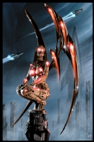 Robot Angel Painting 011, Comic Art