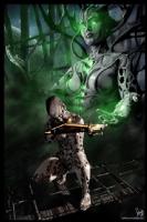Cyberpunk Painting 043, Comic Art