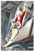 Guardian of Alpha Flight, Comic Art