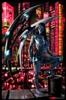 Robot Angel Painting 010, Comic Art