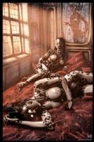 Cyberpunk Painting 033, Comic Art