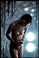Cyberpunk Painting 038, Comic Art