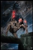Cyberpunk Painting 044, Comic Art