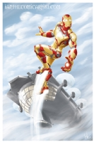 Iron Man 3 armour design, Comic Art