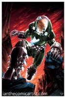 Lex Luthor Armor, Comic Art