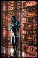 Cyberpunk Painting 061, Comic Art