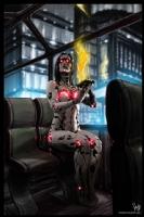 Cyberpunk Painting 056, Comic Art