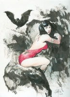 Vampirella by Scott Hampton Comic Art
