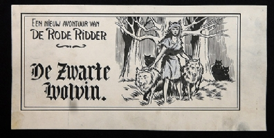 De Rode Ridder Comic Art