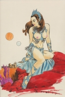 Gray Morrow Dejah Thoris Comic Art