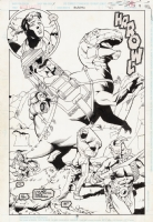 Jeff Johnson Green Lantern Annual #6, Page 9 Comic Art