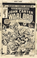 Gil Kane John Carter, Warlord of Mars #1, Cover Comic Art