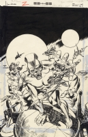 Gil Kane John Carter, Warlord of Mars #2, Cover Comic Art
