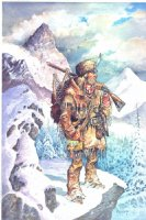 Mountain Man (painting) Comic Art