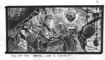 Dark Crystal Storyboard Comic Art