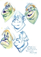 Shrek character designs - II Comic Art