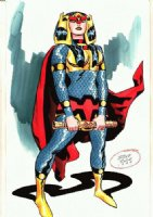 Big Barda Comic Art
