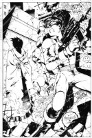 Akira Pinup Comic Art