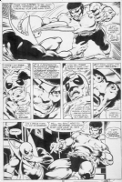 Power Man and Iron Fist # 48 Pg. 30 Comic Art