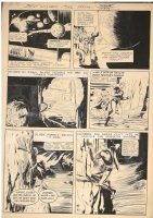 Silver Starr page by Stanley Pitt Comic Art