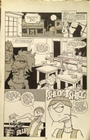 Fish Shticks #1 Page 10 STEVE HAUK Comic Art