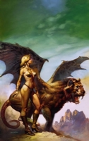 WANTED - High Couch of Silistra BORIS VALLEJO Comic Art