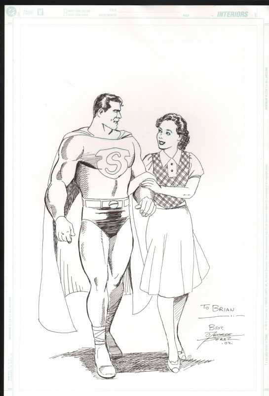 Perez, George Superman and Lois Lane Golden Age , in Brian ...
