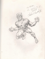 Barnett, Charles Wildcat golden age Comic Art