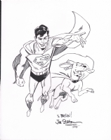 Staton, Joe Superboy and Krypto, the SuperDog silver age 2015 GSCF, Comic Art