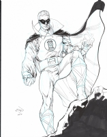 Van Sciver, Ethan Green Lantern golden age 2015 GSCF, Comic Art