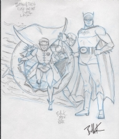 Bullock, Dave Batman and Robin issue 38 varient prelim, 2015, Comic Art
