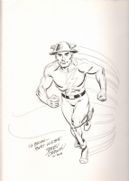 Ordway, Jerry Flash 2015 full figure., Comic Art