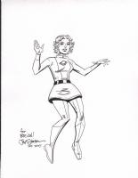 Staton, Joe Saturn Girl 2015 silver age, Comic Art