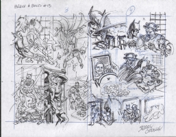 Ordway, Jerry Brave  and Bold 13 pages 3 and 4 prelims, Comic Art