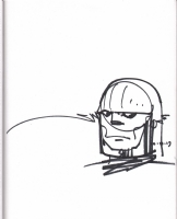 Simonson, Walt Darkseid 2013 NYCC headshot, Comic Art