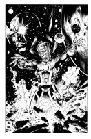 Galactus , Comic Art