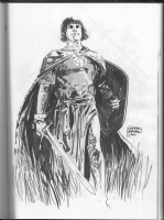 Hardman, Gabriel -- Prince Valiant -- Heroes Con 2011 Comic Art