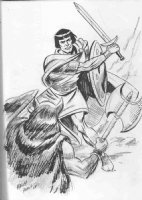 Manley, Mike -- Prince Valiant Comic Art