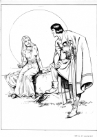 Mooney, Jim -- Prince Valiant Comic Art